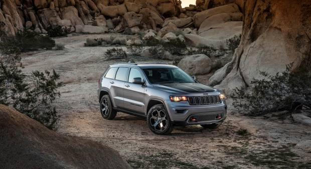 Jeep Grand Cherokee Trailhawk (2016)