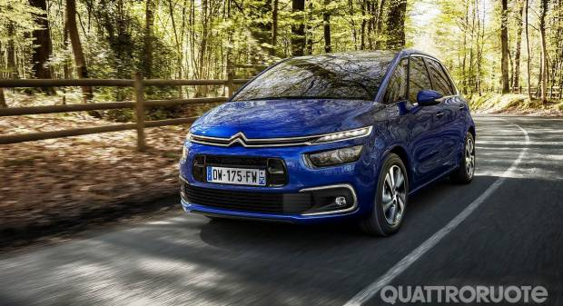 Citroën C4 Picasso (restyling)