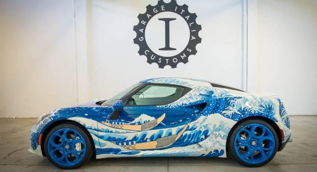 Alfa Romeo 4C Hokusai (2016)