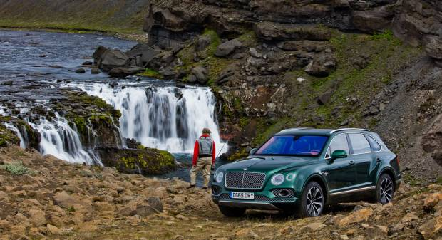 Bentley Bentayga Fly Fishing (2016)