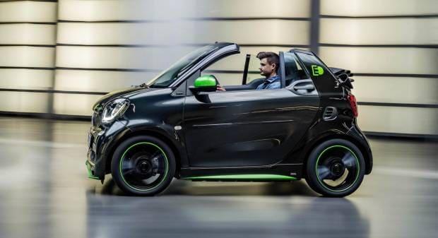 Smart fortwo cabrio electric drive (2016)
