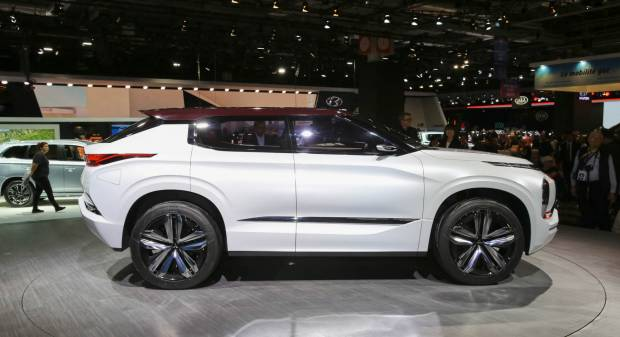 Mitsubishi GT PHEV Concept - LIVE