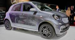 Smart forfour electric drive - LIVE