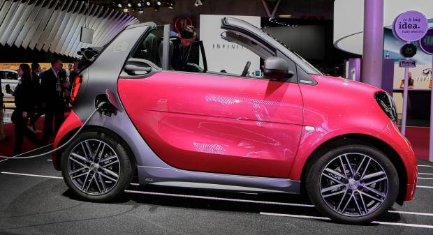 Smart fortwo electric drive Tailor Made - LIVE