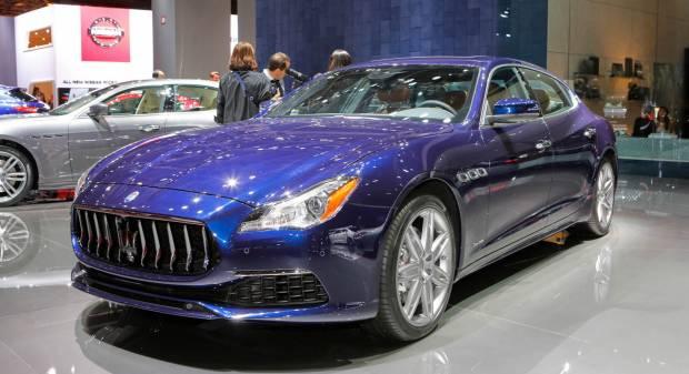 Maserati Quattroporte - LIVE