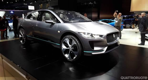 Jaguar I-Pace - FOTO LIVE (2016)