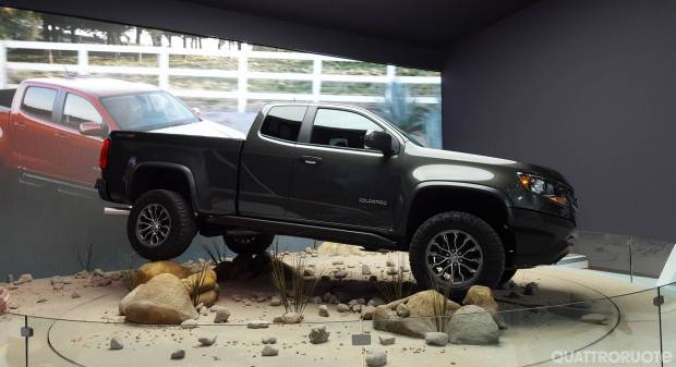 Chevrolet Colorado ZR2 - FOTO LIVE (2016)