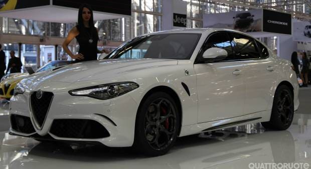 Alfa Romeo al Motor Show 2016 - FOTO LIVE