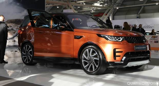 Land Rover al Motor Show 2016 - FOTO LIVE