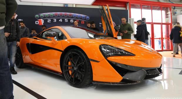 McLaren al Motor Show 2016 - FOTO LIVE