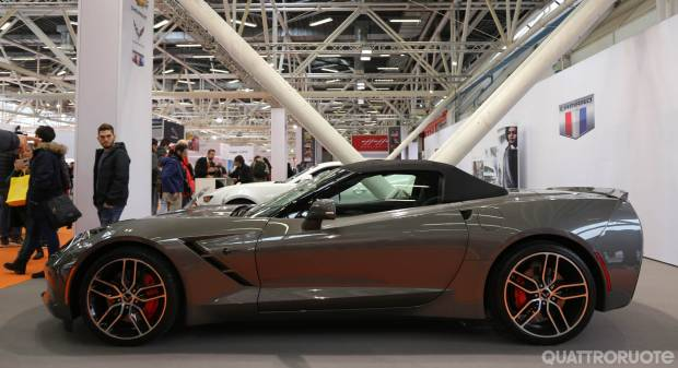 Corvette al Motor Show 2016 - FOTO LIVE