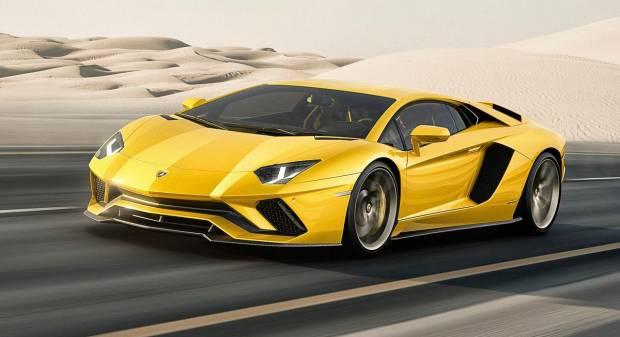Lamborghini Aventador S (2016)