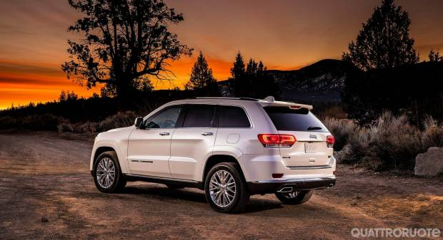 Jeep Grand Cherokee Summit (2017)