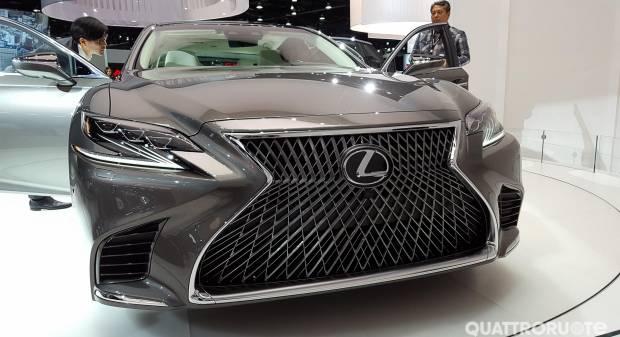 Lexus LS 500 (2017) - Foto Live