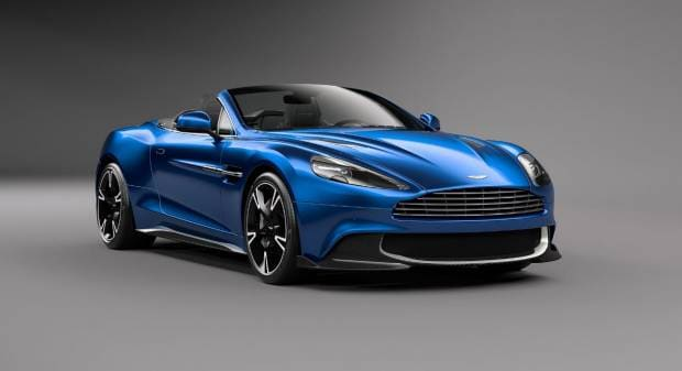 Aston Martin Vanquish S Volante (2017)