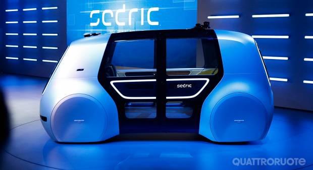 Volkswagen Sedric Concept (2017) - LIVE