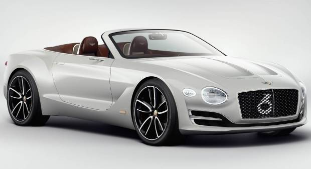 Bentley EXP 12 Speed 6e Concept (2017)