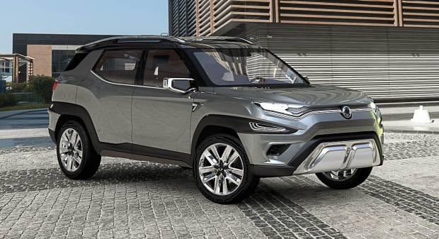 SsangYong XAVL Concept (2017)