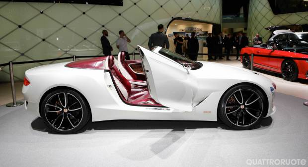 Bentley EXP 12 Speed 6e Concept (2017) - FOTO LIVE