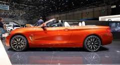 BMW Serie 4 Cabrio (2017) - FOTO LIVE