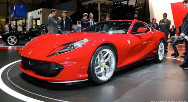 Ferrari 812 Superfast (2017) - FOTO LIVE