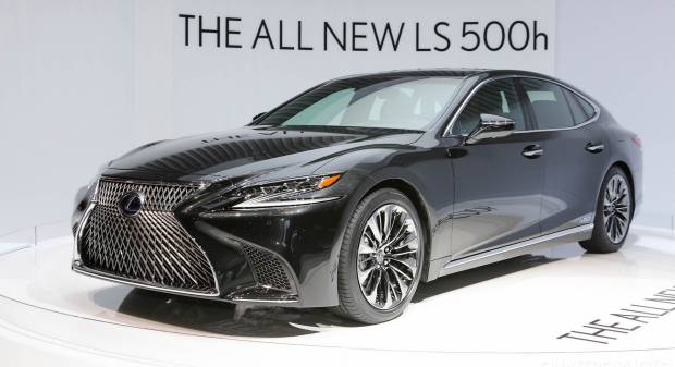 Lexus LS 500h (2017) - FOTO LIVE