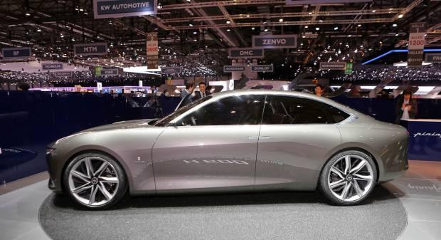 Pininfarina H600 Concept (2017) - FOTO LIVE