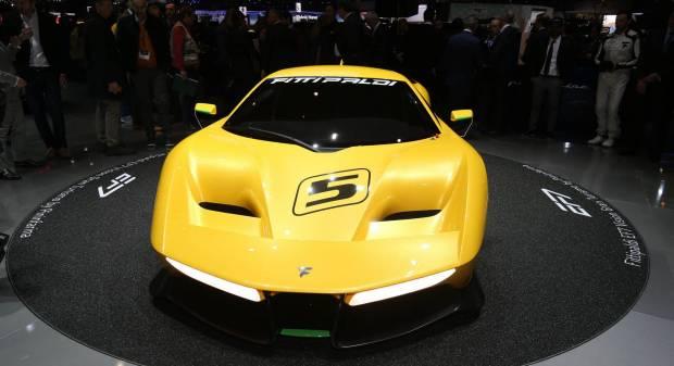 Fittipaldi EF7 Vision GT (2017) - FOTO LIVE