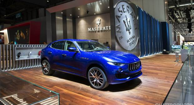 Maserati al Salone di Ginevra 2017 - FOTO LIVE