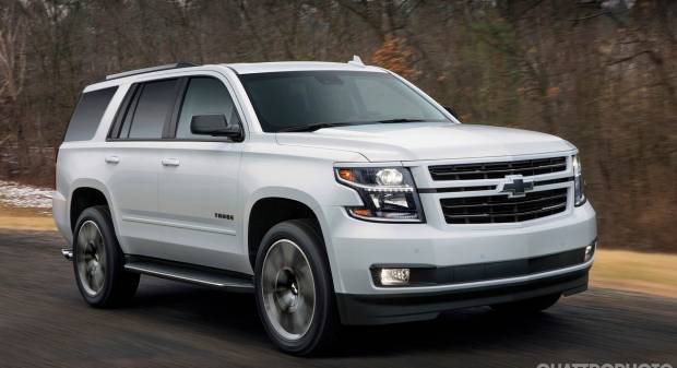 Chevrolet Tahoe RST (2017)