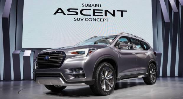 Subaru Ascent Suv Concept (2017)