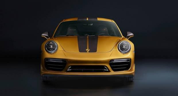 Porsche 911 Turbo S Exclusive Series (2017)
