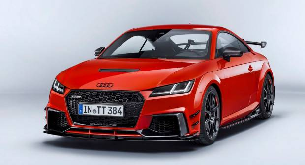 Audi TT RS Performance parts (2017)