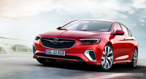 Opel Insignia GSi (2017)
