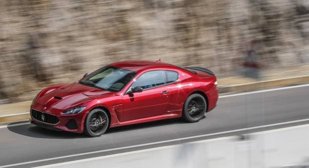 Maserati GranTurismo MC (2017)