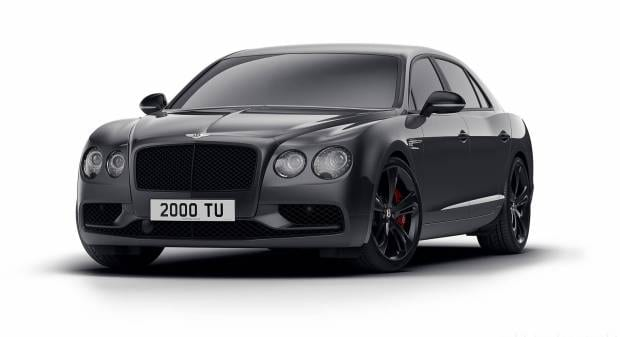 Bentley Flying Spur V8 S Black Edition (2017)