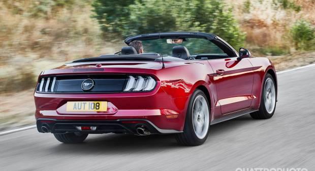 Ford Mustang Cabrio EU (2017)
