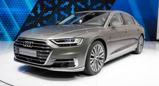 Audi A8 (2017) - FOTO LIVE