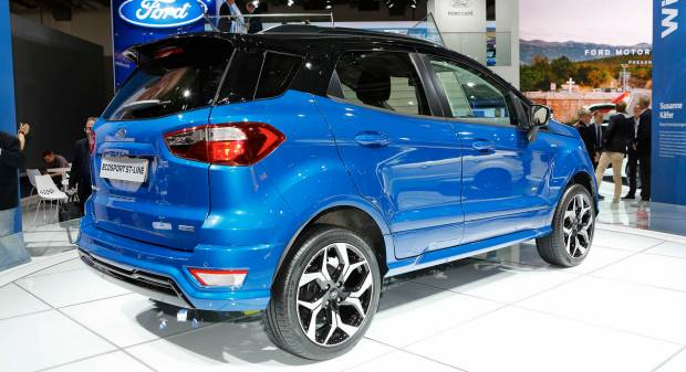 Ford EcoSport (2017) - FOTO LIVE