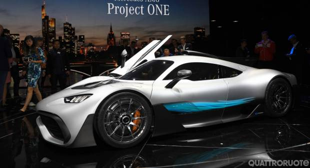 Mercedes-AMG Project One (2017) - FOTO LIVE