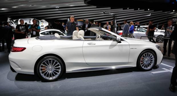 Mercedes-Benz Classe S Cabrio (2017) - FOTO LIVE