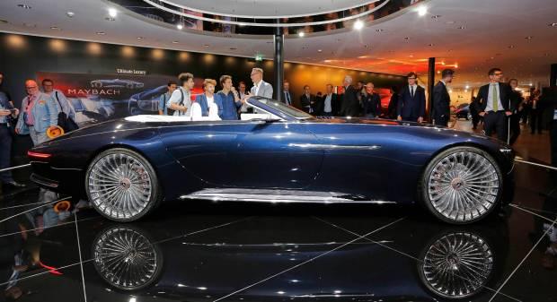 Mercedes-Maybach Vision 6 Cabrio - FOTO LIVE