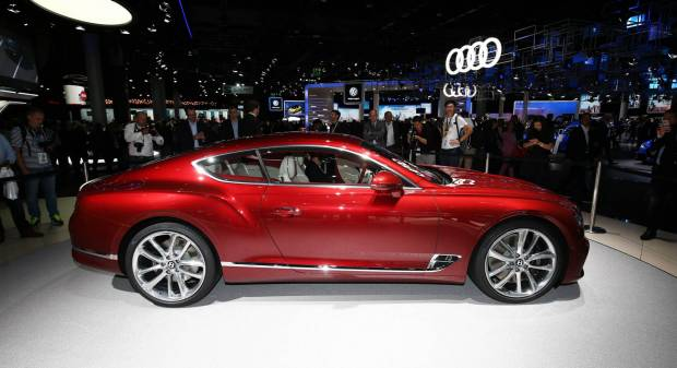 Bentley Continental GT (2017) - FOTO LIVE