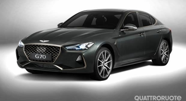 Genesis G70 (2017)