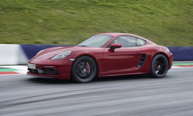 (2017) Porsche 718 Cayman GTS