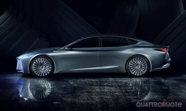 Lexus LS+ Concept (2017)
