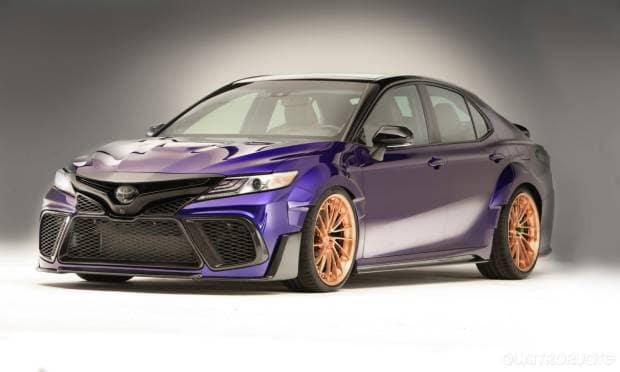 Toyota Camry Nascar Stars (2017)
