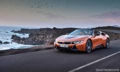 BMW i8 Coupé e Roadster (2017)