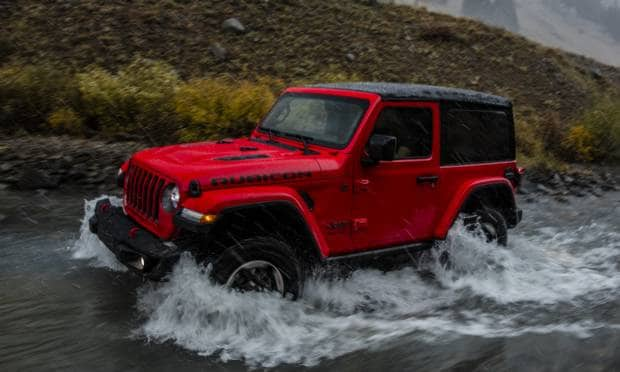 Jeep Wrangler Rubicon (2017)