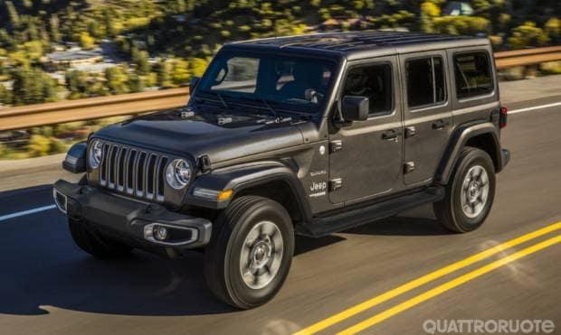 Jeep Wrangler Sahara (2017)